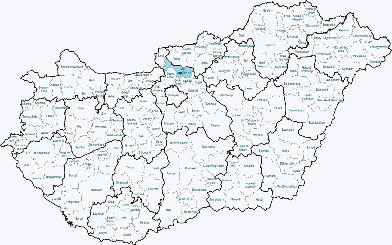 magyarország települései térkép Dunakanyar Többcélú Önkormányzati Kistérségi Társulás magyarország települései térkép